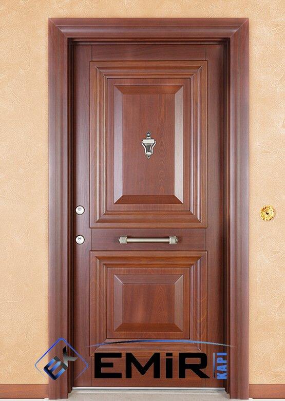 ECK-019 Üsküdar Çelik Kapı Açık Ceviz Çelik Kapı Özel Üretim Çelik Kapı Modelleri Çelik Kapı Fiyatarı Lüks En İyi Çelik Kapı Markası