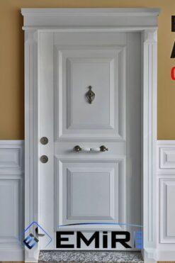 ECK-021 Şişli Çelik Kapı Açık Ceviz Çelik Kapı Özel Üretim Çelik Kapı Modelleri Çelik Kapı Fiyatarı Lüks En İyi Çelik Kapı Markası