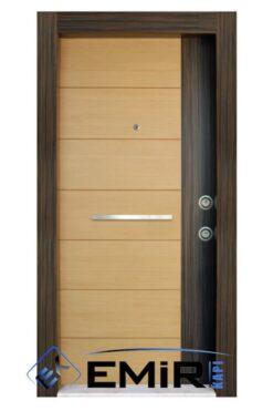ECK-026 Maslak Çelik Kapı Açık Ceviz Çelik Kapı Özel Üretim Çelik Kapı Modelleri Çelik Kapı Fiyatarı Lüks En İyi Çelik Kapı Markası
