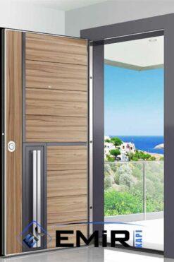 ECK-028 Kemerburgaz Kaplama Meşe Çelik Kapı Özel Üretim Çelik Kapı Modelleri Çelik Kapı Fiyatarı İstanbul Çelik Kapı