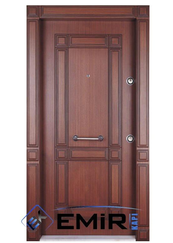 ECK-030 Taksim Çelik Kapı Maun Çelik Kapı Özel Üretim Çelik Kapı Modelleri Çelik Kapı Fiyatarı Lüks En İyi Çelik Kapı Markası
