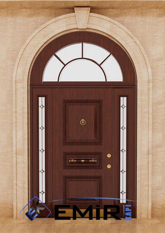 EVK-023 Bursa Villa Kapısı Çelik Kapı Dış Mekan Villa Giriş Kapısı İstanbul