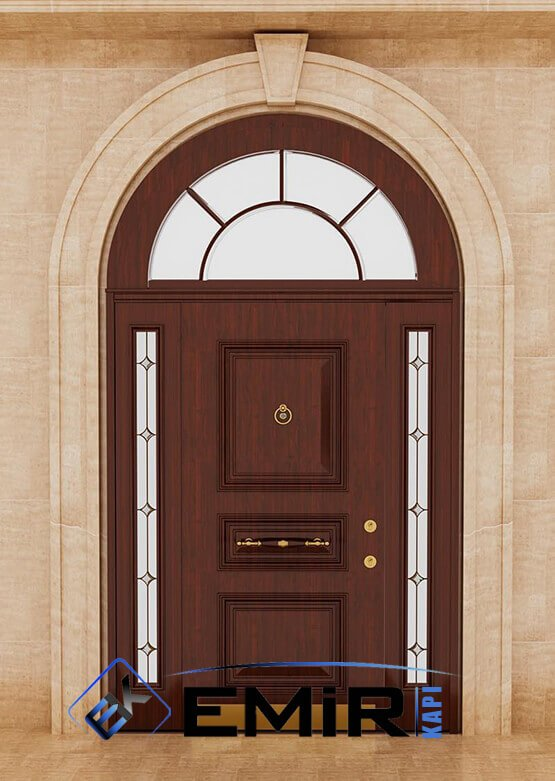 Muğla Villa Kapısı Çelik Kapı Dış Mekan Villa Giriş Kapısı İstanbul