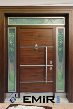 Etiler Villa Kapısı Çelik Kapı Dış Mekan Villa Giriş Kapısı İstanbul