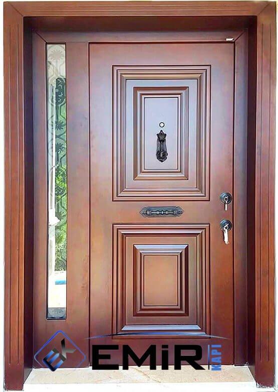 ULUS Villa Kapısı Çelik Kapı Dış Mekan Villa Giriş Kapısı İstanbul
