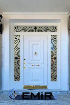 Balıkesir Villa Kapısı Çelik Kapı Dış Mekan Villa Giriş Kapısı İstanbul