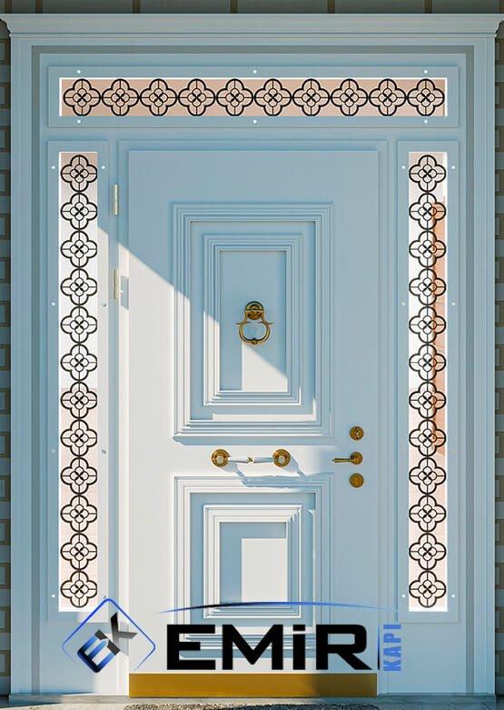 BAKÜ Villa Kapısı Çelik Kapı Dış Mekan Villa Giriş Kapısı İstanbul