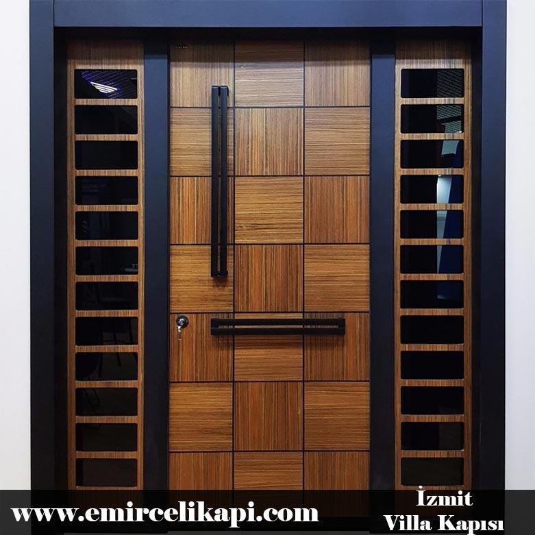 İzmit Villa Kapısı 2021 Villa Kapı Modelleri Villa Giriş Kapısı Fiyatları İndirimli Villa Kapısı Kompozit Dış Mekan Çelik Kapı