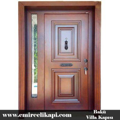 bakü Villa Kapısı 2021 Villa Kapı Modelleri Villa Giriş Kapısı Fiyatları İndirimli Villa Kapısı Kompozit Dış Mekan Çelik Kapı