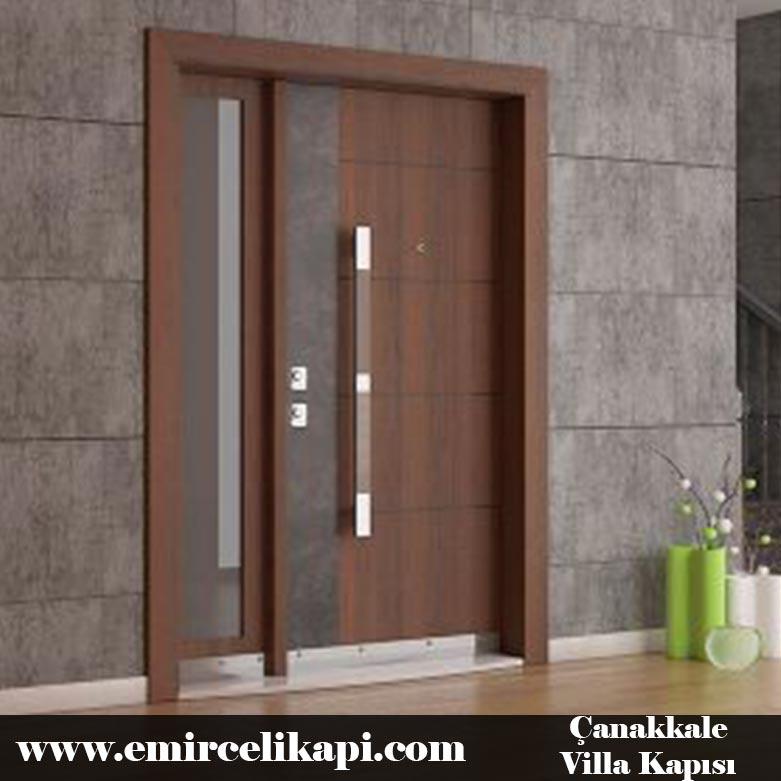 çanakkale Villa Kapısı 2021 Villa Kapı Modelleri Villa Giriş Kapısı Fiyatları İndirimli Villa Kapısı Kompozit Dış Mekan Çelik Kapı