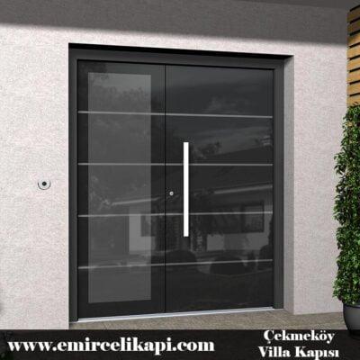 çekmeköy Villa Kapısı 2021 Villa Kapı Modelleri Villa Giriş Kapısı Fiyatları İndirimli Villa Kapısı Kompozit Dış Mekan Çelik Kapı