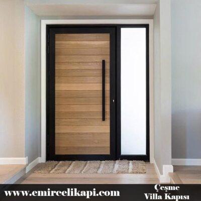 çeşme Villa Kapısı 2021 Villa Kapı Modelleri Villa Giriş Kapısı Fiyatları İndirimli Villa Kapısı Kompozit Dış Mekan Çelik Kapı