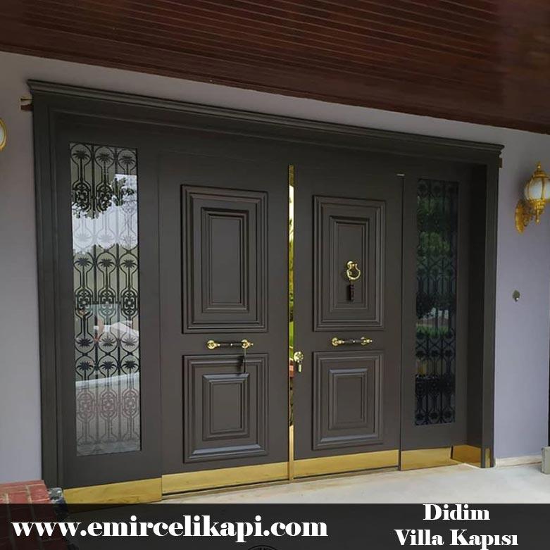 didim Villa Kapısı 2021 Villa Kapı Modelleri Villa Giriş Kapısı Fiyatları İndirimli Villa Kapısı Kompozit Dış Mekan Çelik Kapı