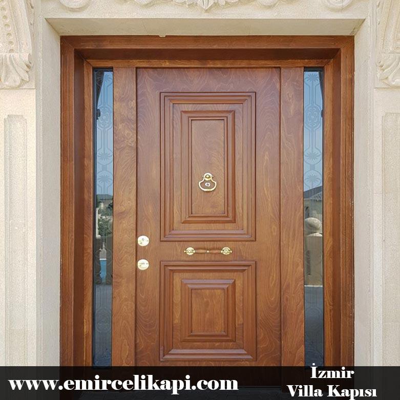 izmir Villa Kapısı 2021 Villa Kapı Modelleri Villa Giriş Kapısı Fiyatları İndirimli Villa Kapısı Kompozit Dış Mekan Çelik Kapı