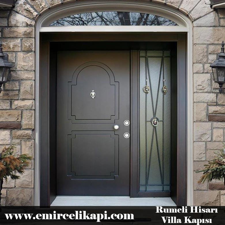 rumelihisarı Villa Kapısı 2021 Villa Kapı Modelleri Villa Giriş Kapısı Fiyatları İndirimli Villa Kapısı Kompozit Dış Mekan Çelik Kapı