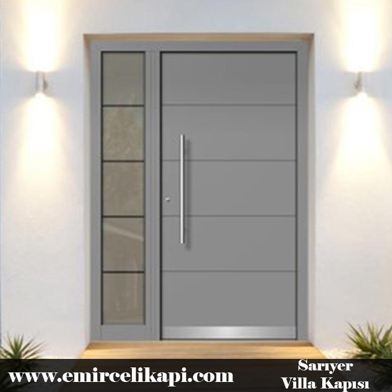 sarıyer Villa Kapısı 2021 Villa Kapı Modelleri Villa Giriş Kapısı Fiyatları İndirimli Villa Kapısı Kompozit Dış Mekan Çelik Kapı