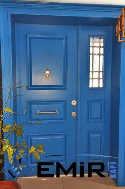 Bodrum Villa Kapısı Mavi Villa Giriş Kapısı Bodrum Mavisi İndirimli Villa Kapıları