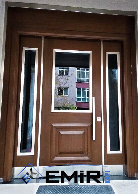 Avcılar Bina Kapısı Apartman Giriş Kapısı Modelleri İndirimli Kompozit Bina Kapısı Çelik Kapı