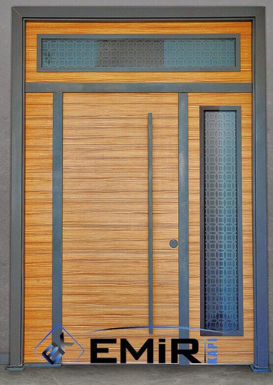 Bağcılar Bina Kapısı Apartman Giriş Kapısı Modelleri İndirimli Kompozit Bina Kapısı Çelik Kapı