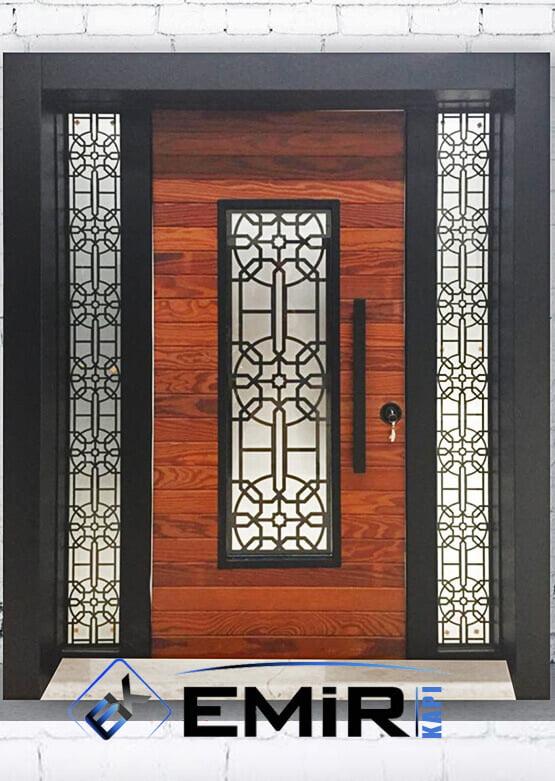 Gürpınar Bina Kapısı Apartman Giriş Kapısı Modelleri İndirimli Kompozit Bina Kapısı Çelik Kapı