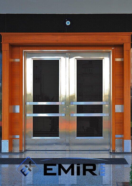 Eyüp Bina Kapısı Apartman Giriş Kapısı Modelleri İndirimli Kompozit Bina Kapısı Çelik Kapı