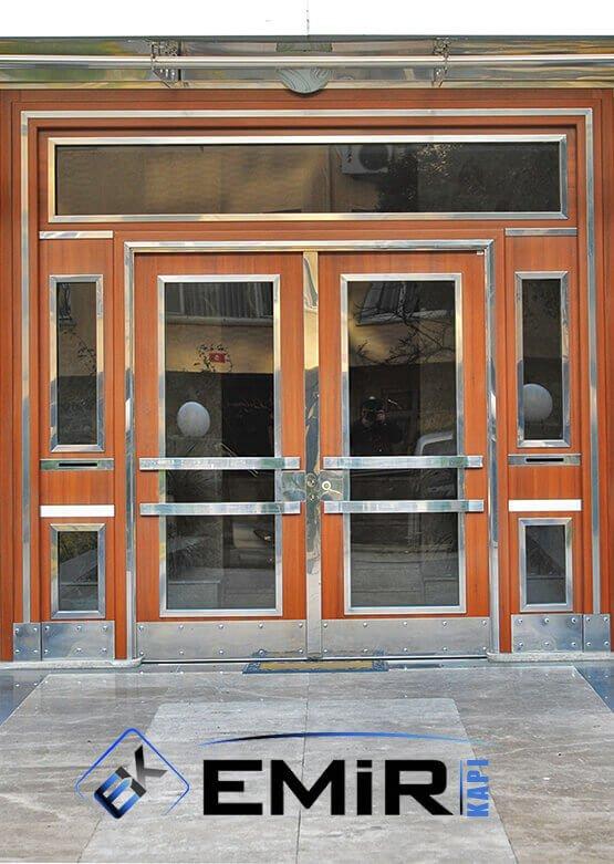 Güngören Bina Kapısı Apartman Giriş Kapısı Modelleri İndirimli Kompozit Bina Kapısı Çelik Kapı Fiyatları