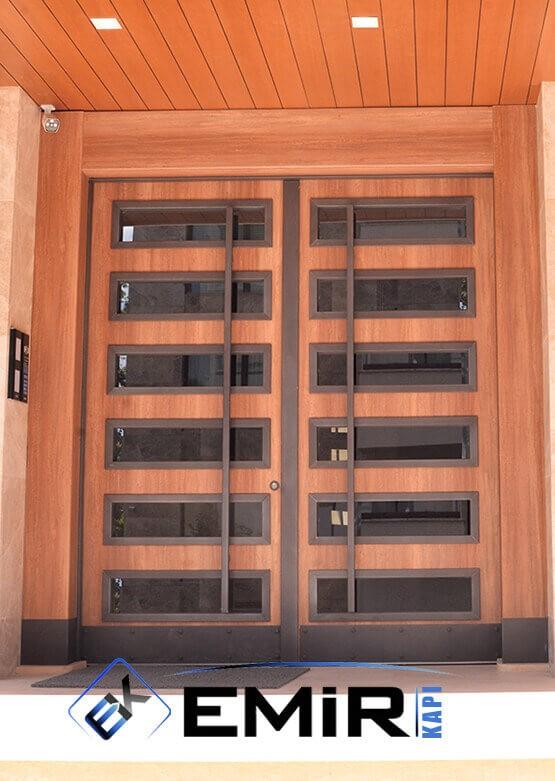 Sarıyer Bina Kapısı Apartman Giriş Kapısı Modelleri İndirimli Kompozit Bina Kapısı Çelik Kapı Fiyatları