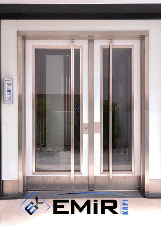 Çengelköy Bina Kapısı İstanbul Apartman Giriş Kapısı Modelleri İndirimli Kompozit Bina Kapısı Çelik Kapı Fiyatları