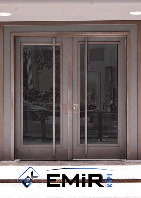 Caddebostan Bina Kapısı İstanbul Apartman Giriş Kapısı Modelleri İndirimli Kompozit Bina Kapısı Çelik Kapı Fiyatları