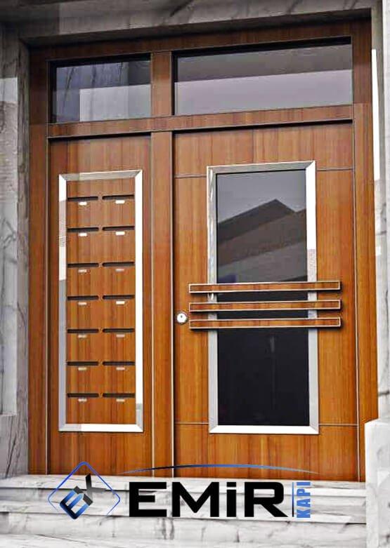 Kemerburgaz Bina Kapısı İstanbul Apartman Giriş Kapısı Modelleri İndirimli Kompozit Bina Kapısı Çelik Kapı Fiyatları