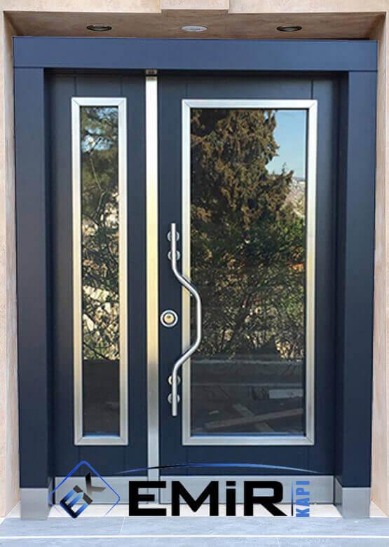 Okmeydanı Bina Kapısı İstanbul Apartman Giriş Kapısı Modelleri İndirimli Kompozit Bina Kapısı Çelik Kapı Fiyatları