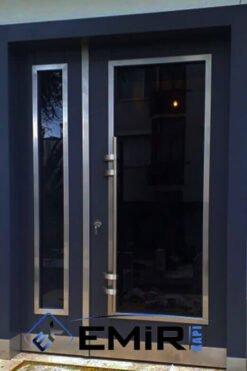 Ulus Bina Kapısı İstanbul Apartman Giriş Kapısı Modelleri İndirimli Kompozit Bina Kapısı Çelik Kapı Fiyatları