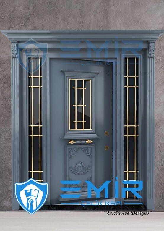 Antrasit Villa Kapısı Villa Giriş Kapısı Modelleri Villa Kapıları İndirimli Villa Kapısı Fiyatları