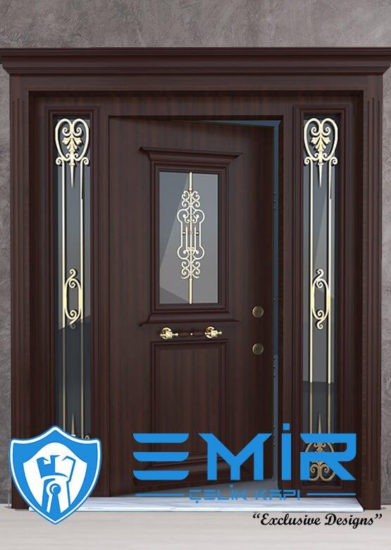 Ferforjeli Villa Giriş Kapısı Villa Kapısı Modelleri Villa Dış Mekan Çelik Kapı Fİyatları Alarmlı