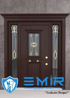 Ferforjeli Villa Giriş Kapısı Villa Kapısı Modelleri Villa Dış Mekan Çelik Kapı Fİyatları Klasik