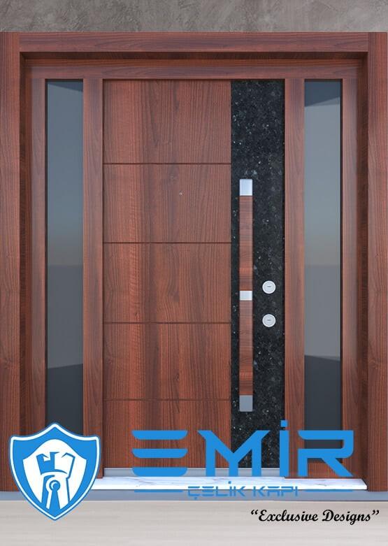 Ferforjeli Villa Giriş Kapısı Villa Kapısı Modelleri Villa Dış Mekan Çelik Kapı Fİyatları Mermer Desenli