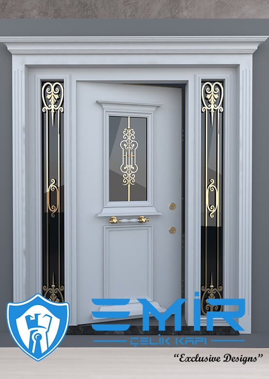 Ferforjeli Villa Giriş Kapısı Villa Kapısı Modelleri Villa Dış Mekan Çelik Kapı Fİyatları2