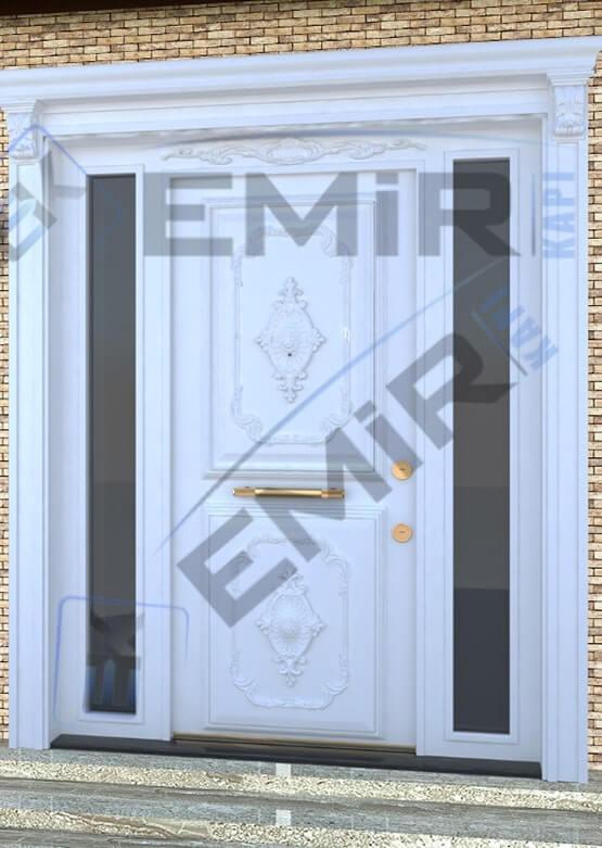 İstanbul Beyaz Villa Kapısı Kompozit Villa Kapısı Ahşap Kaplama Villa Giriş Kapısı Modelleri İndirimli Villa Kapıları Özel Tasarım Villa Kapısı