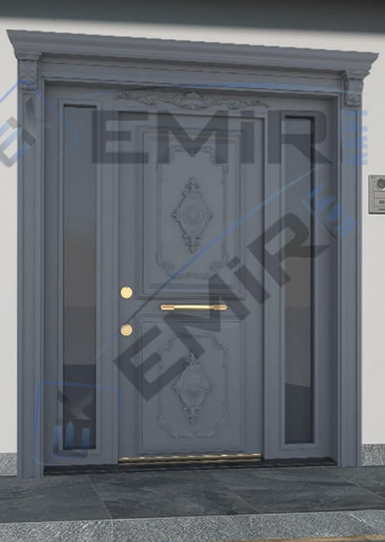 İstanbul Beykoz Villa Kapısı Kompozit Villa Kapısı Ahşap Kaplama Villa Giriş Kapısı Modelleri İndirimli Villa Kapıları Özel Tasarım Villa Kapısı