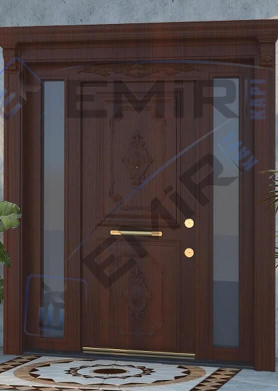 İstanbul Beylikdüzü Villa Kapısı Kompozit Villa Kapısı Ahşap Kaplama Villa Giriş Kapısı Modelleri İndirimli Villa Kapıları Özel Tasarım Villa Kapısı