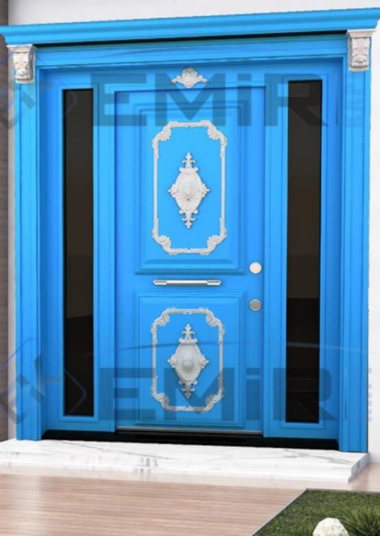 İstanbul Büyükçekmece Villa Kapısı Kompozit Villa Kapısı Ahşap Kaplama Villa Giriş Kapısı Modelleri İndirimli Villa Kapıları Özel Tasarım Villa Kapısı