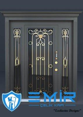 Villa Kapısı İndirimli Villa Giriş Kapıları Kompozit Villa Kapısı Camlı Dış Mekan Çelik Kapı2