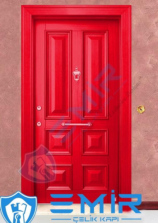 Kırmızı Çelik Kapı Özel Tasarım Kapı Modelleri Kapı Fiyatları