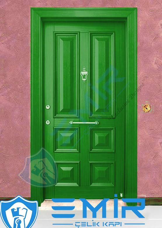 Yeşil Çelik Kapı Özel Tasarım Kapı Modelleri Kapı Fiyatları