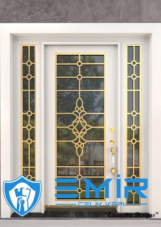 Altın Ferforje Villa Kapısı Dış Kapı Fiyatları Çelik Kapı Modelleri Emir Çelik Kapı 5