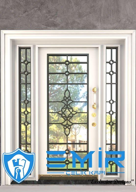 Altın Ferforje Villa Kapısı Dış Kapı Fiyatları Çelik Kapı Modelleri Emir Çelik Kapı