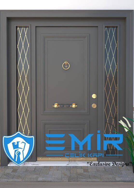 Villa Kapısı Çelik Kapı Dış Kapı Modelleri Villa Giriş Kapısı İstanbul Villa Kapıları 12
